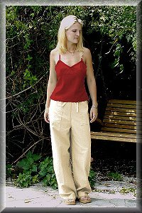 Natural Eco Friendly, Allergy Free Organic Women's Pants.