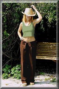 Organic Hemp Cabana Pants.