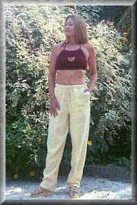 Organic Hemp Cruise Pants.