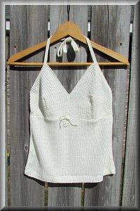 Hemp Knit Blossom Blouse.