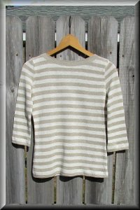 Hemp Knit Venezia Blouse.
