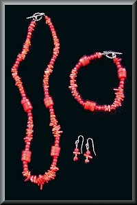 Coral Reef Necklace.
