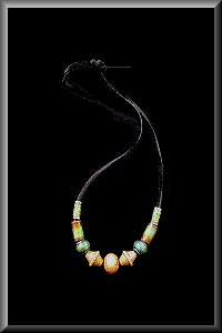 Mirage Color Changing Bead Necklace.