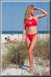 Sample Solid Color Bikinis.