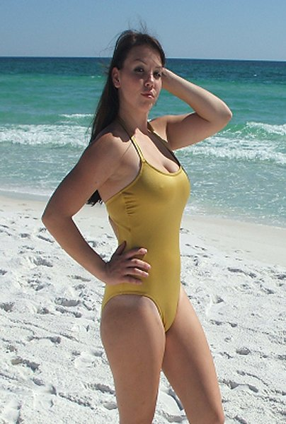 Glamor Girl One Piece Swimsuit American Made Handcrafted Custom One Piece Swimsuits Available