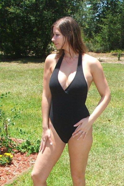 Eco Friendly Organic Marilyn Halter One Piece Swimsuit
